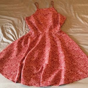 Hollister dress with strapped open back